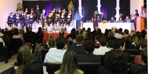 Foram graduados 23 bacharéis. Fotos: Gustavo Cabral Vaz/Ascom