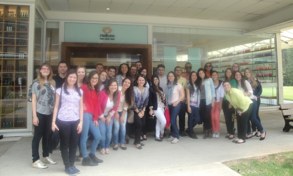 Participaram da viagem graduandos de diferentes cursos e alunos do Mestrado Profissional em Administração. Fotos: Divulgação
