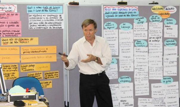 Cordioli atua como moderador em processos participativos desde os anos 1990