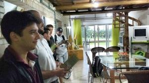 Participaram da visita alunos do primeiro termo, pela disciplina Administração Publica e Sociedade. Fotos: Divulgação